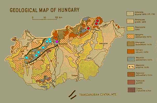 szintvonalas térkép magyarország Őskori iparvidék a Bakonyban: Képjegyzék szintvonalas térkép magyarország